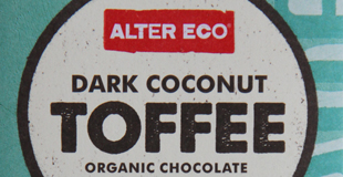 Dark Coconut Toffee Bar Image
